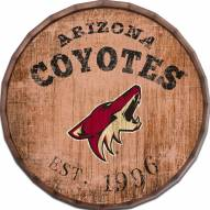 """Arizona Coyotes Established Date 24"""" Barrel Top"""