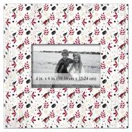 """Arizona Coyotes Floral Pattern 10"""" x 10"""" Picture Frame"""
