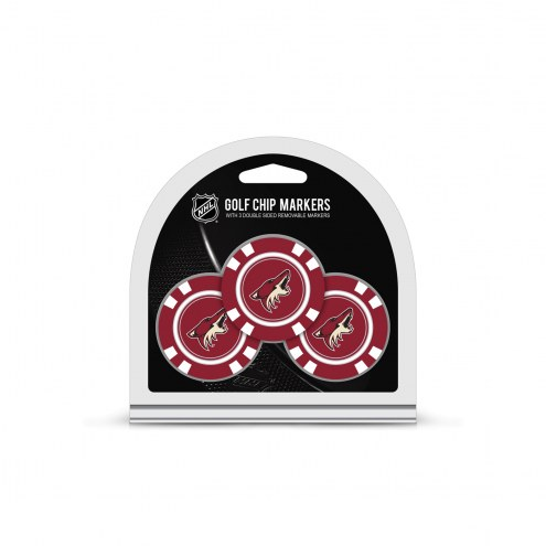 Arizona Coyotes Golf Chip Ball Markers