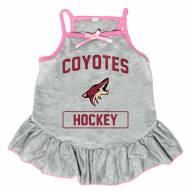 Arizona Coyotes Gray Dog Dress