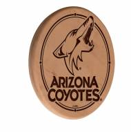 Arizona Coyotes Laser Engraved Wood Sign