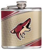 Arizona Coyotes Hi-Def Stainless Steel Flask