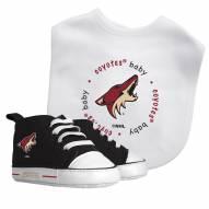 Arizona Coyotes Infant Bib & Shoes Gift Set