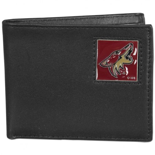 Arizona Coyotes Leather Bi-fold Wallet