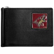 Arizona Coyotes Leather Bill Clip Wallet
