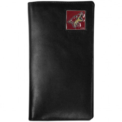 Arizona Coyotes Leather Tall Wallet