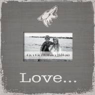 Arizona Coyotes Love Picture Frame