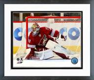 Arizona Coyotes Mike Smith Action Framed Photo