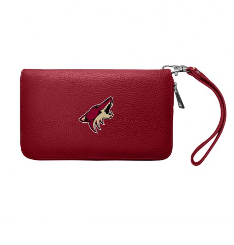 Arizona Coyotes Pebble Organizer Wallet