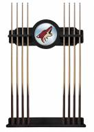 Arizona Coyotes Pool Cue Rack