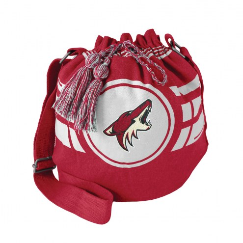Arizona Coyotes Ripple Drawstring Bucket Bag