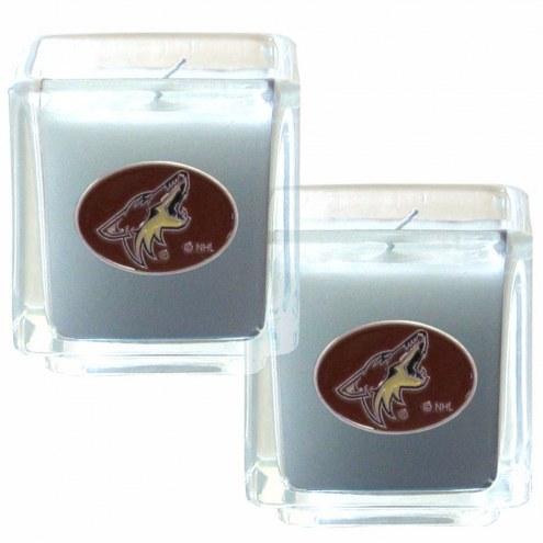 Arizona Coyotes Scented Candle Set