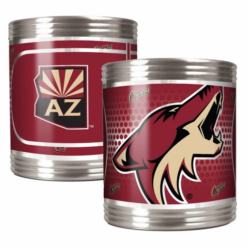 Arizona Coyotes Stainless Steel Hi-Def Coozie Set