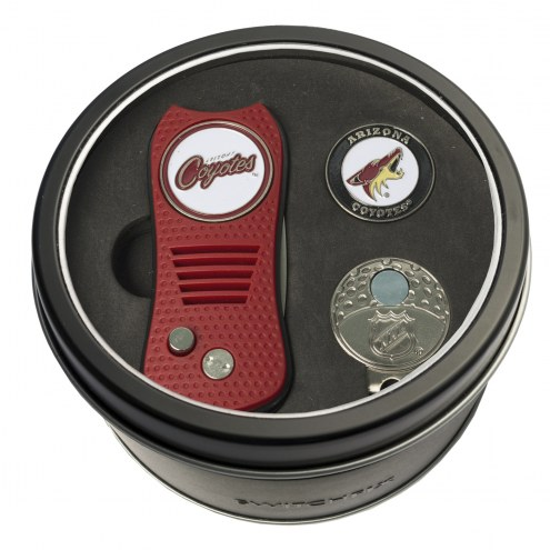 Arizona Coyotes Switchfix Golf Divot Tool, Hat Clip, & Ball Marker