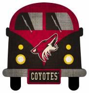 Arizona Coyotes Team Bus Sign