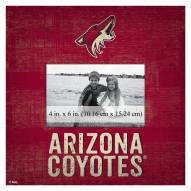 "Arizona Coyotes Team Name 10"" x 10"" Picture Frame"