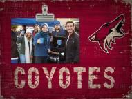 Arizona Coyotes Team Name Clip Frame