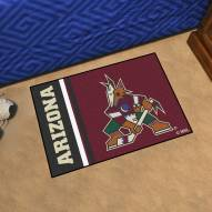 Arizona Coyotes Uniform Inspired Starter Rug