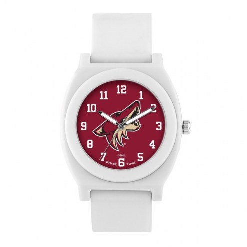 Arizona Coyotes Unisex Fan White Watch