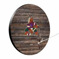 Arizona Coyotes Weathered Design Hook & Ring Game