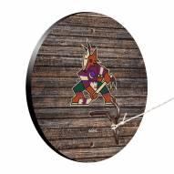 Arizona Coyotes Weathered Design Hook & Ring Game