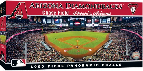 Arizona Diamondbacks 1000 Piece Panoramic Puzzle