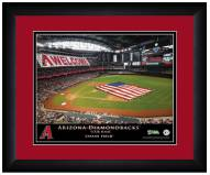 Arizona Diamondbacks 13 x 16 Personalized Framed Stadium Print