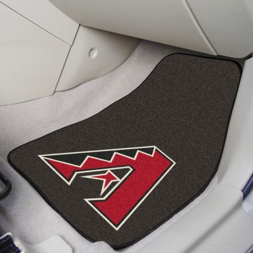 Arizona Diamondbacks 2-Piece Carpet Car Mats