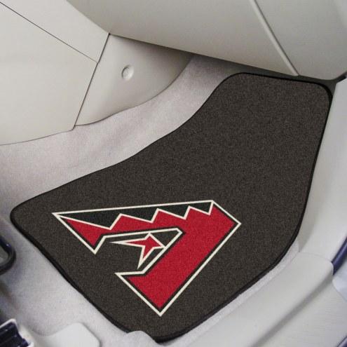 Arizona Diamondbacks 2-Piece Carpet Car Mats