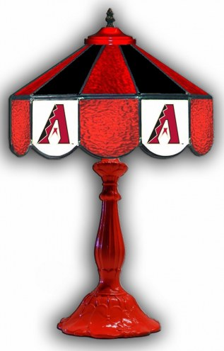 "Arizona Diamondbacks 21"" Glass Table Lamp"