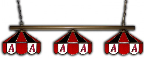 Arizona Diamondbacks 3 Shade Pool Table Light