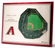 Arizona Diamondbacks 5-Layer StadiumViews 3D Wall Art