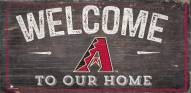 "Arizona Diamondbacks 6"" x 12"" Welcome Sign"