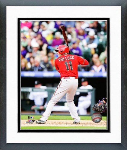 Arizona Diamondbacks A.J. Pollock Action Framed Photo