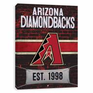 Arizona Diamondbacks Brickyard Printed Canvas