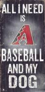 Arizona Diamondbacks Baseball & My Dog Sign