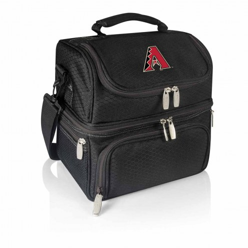 Arizona Diamondbacks Black Pranzo Insulated Lunch Box
