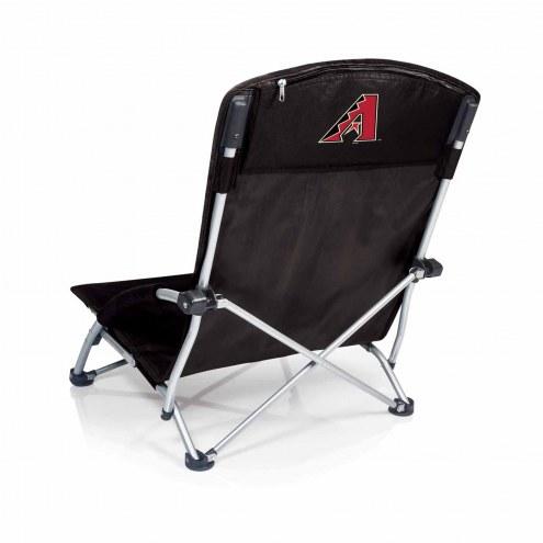 Arizona Diamondbacks Black Tranquility Beach Chair