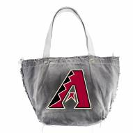 Arizona Diamondbacks Black Vintage Tote Bag