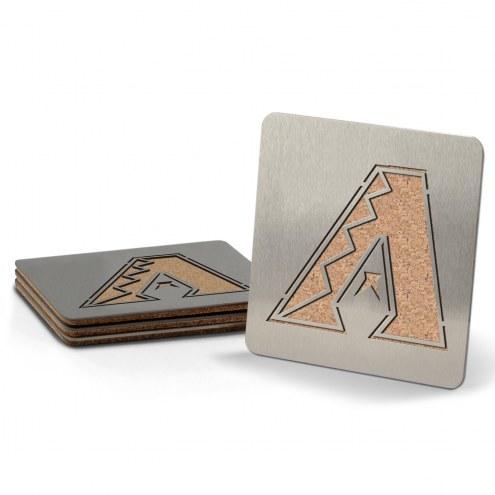 Arizona Diamondbacks Boasters Stainless Steel Coasters - Set of 4