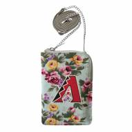 Arizona Diamondbacks Canvas Floral Smart Purse