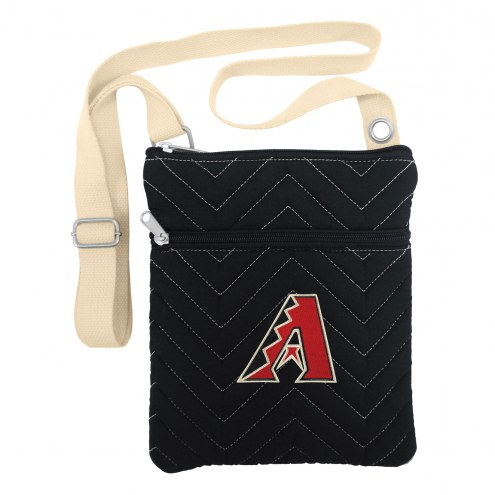 Arizona Diamondbacks Chevron Stitch Crossbody Bag