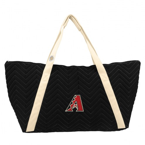 Arizona Diamondbacks Chevron Stitch Weekender Bag