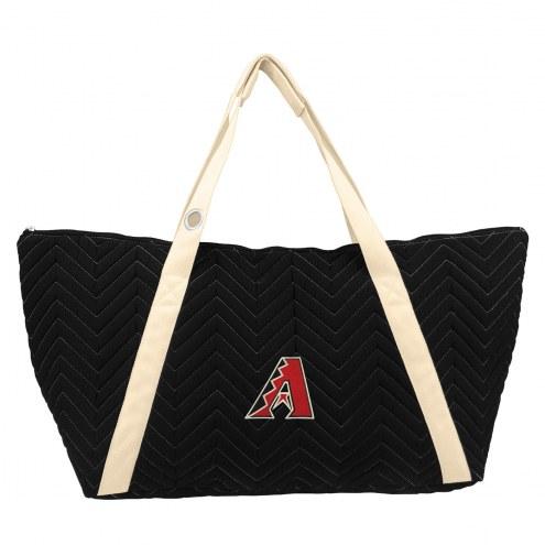 Arizona Diamondbacks Chevron Stitch Weekender Bag