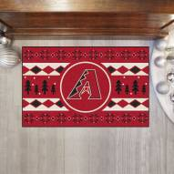 Arizona Diamondbacks Christmas Sweater Starter Rug