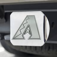 Arizona Diamondbacks Chrome Metal Hitch Cover