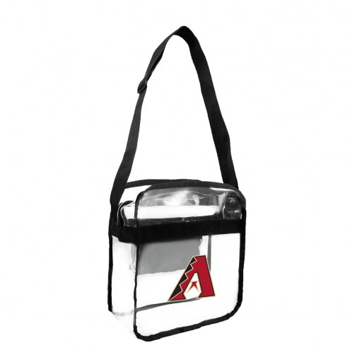 Arizona Diamondbacks Clear Crossbody Carry-All Bag