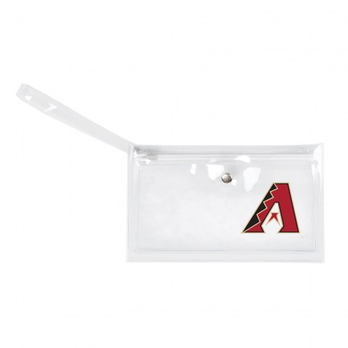 Arizona Diamondbacks Clear Ticket Wristlet