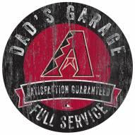Arizona Diamondbacks Dad's Garage Sign
