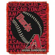 Arizona Diamondbacks Double Play Jacquard Throw Blanket